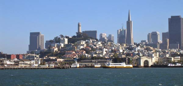 Alcatraz City View