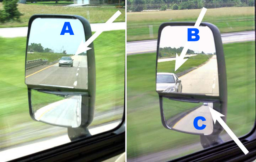 Rv Side Mirrors : Setting rv mirrors for you