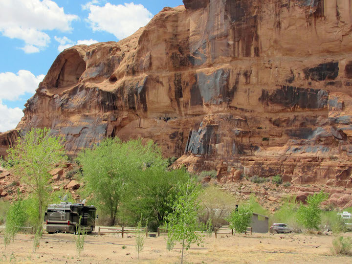 Campground in Moab UT 1