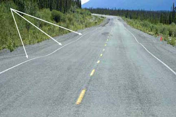 Frost Heave w-arrows